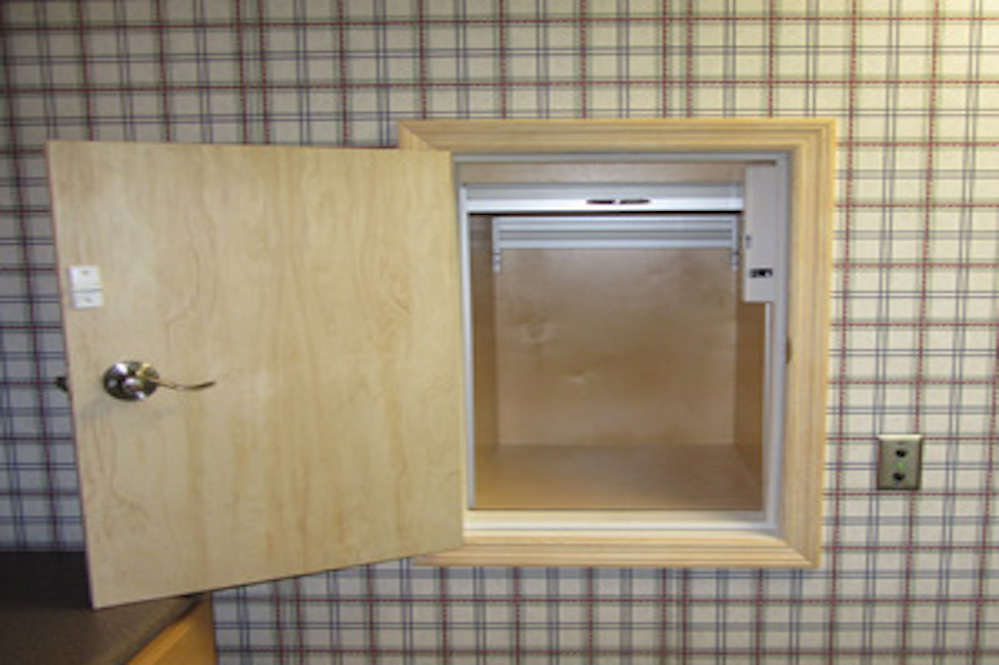 Dumbwaiter installation